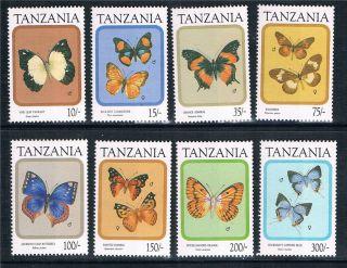 Tanzania 1991 Butterflies Sg 956/63 photo