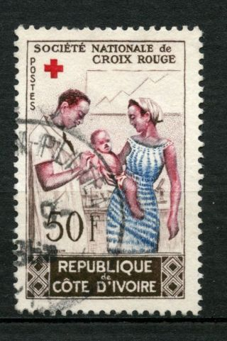 Ivory Coast 1964 Sg 242 Red Cross A49127 photo