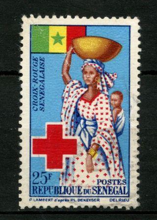 Senegal 1963 Sg 272 Red Cross A49150 photo