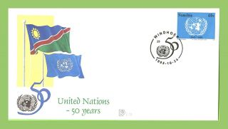 Namibia 1996 50th Anniversary Of United Nations First Day Cover photo