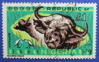 1966 Nigeria 1p Scott 197 S.  G.  185 Cs06006 photo