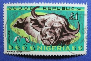 1966 Nigeria 1p Scott 197 S.  G.  185 Cs06008 photo