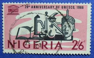 1966 Nigeria 2s6d Scott 206 S.  G.  194 Cs06010 photo