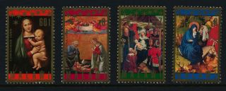 Malawi 691 - 4 Christmas,  Art photo