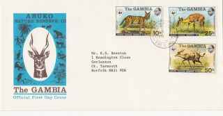 (28106) Gambia Fdc - Abuko Nature Reserve 1976 photo