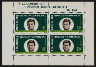 Cameroun C52a John F.  Kennedy photo