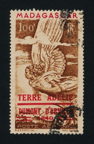 Malagasy C54 - Allegory Of Air Mail,  Terre Adele O/p photo
