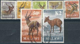 Malawi.  1971. .  Wild Animals (2483) photo
