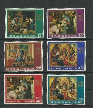 1210.  Togo 1968 Christmas photo