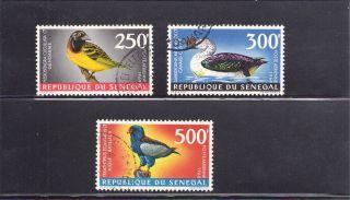 Senegal 1967 Scott C55 - 7 - Birds photo