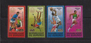 Burundi - 499a - 499d photo