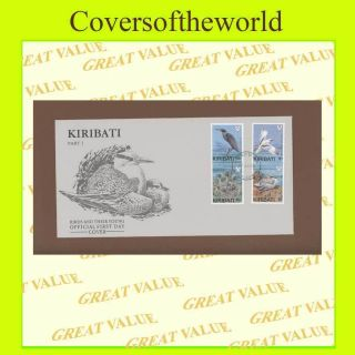 Kiribati 1989 Birds,  Part I,  On First Day Cover photo