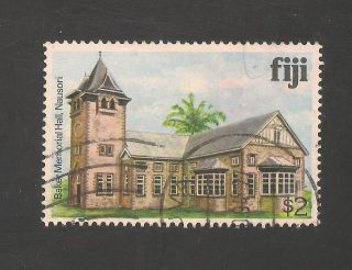 Fiji 424 Vf - 1979 $3.  00 Baker Memorial Hall,  Nausori photo