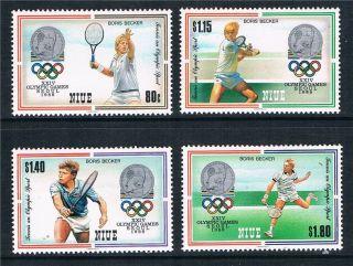 Niue 1987 Olympic Games Seoul Sg 649 - 52 photo