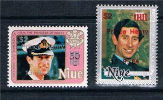 Niue 1984 Birth Of Prince Henry Sg 573 - 4 photo