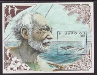 Tonga Niuafo - Ou Whales 133 Vf (11793) photo