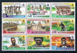 Solomon Is 1998 Melanesian Trade Show Sg 912 - 20 photo