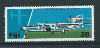 Fiji Sg535 1976 30c Aircraft photo