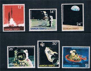 Samoa 1979 Moon Landing Sg 544 - 9 photo