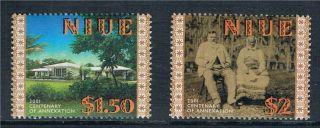 Niue 2001 Annexation To Zealand Sg 902 - 3 photo