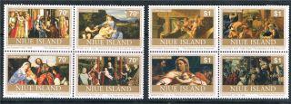 Niue 1994 Christmas Sg 783 - 90 photo