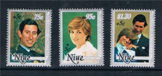 Niue 1982 Royal Wedding Sg 444 - 6 photo