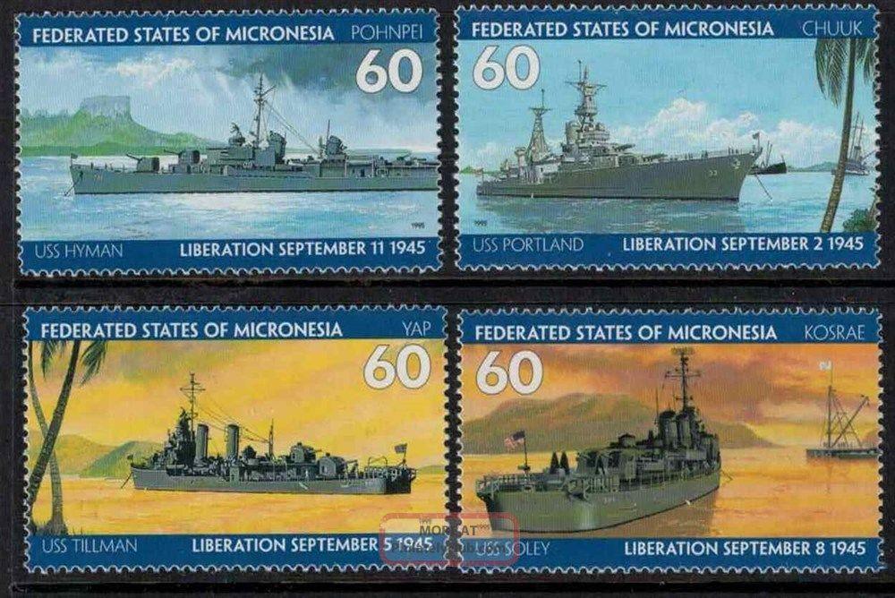 Micronesia Sc 210a - 210r War Australia & Oceania photo