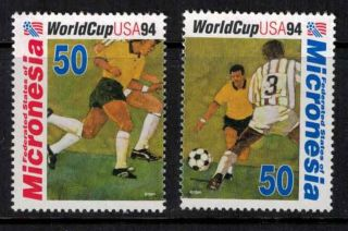 Micronesia 1994 Sc 196 - 197 World Cup photo