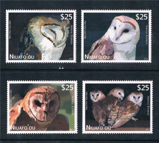 Niuafo ' Ou 2012 Owls Airmail Express Issue photo