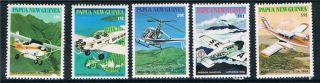 Papua Guinea 1981 Mission Aviation Sg 412/16 photo