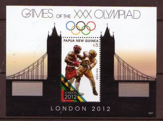 Papua Guinea 2012 London 2012 Olympics Unmounted, photo