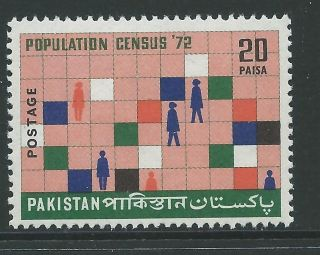 Pakistan Sg337 1972 Population Census photo