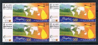 Sri Lanka 2008 Nenasala Initiative Blk 4 Sg 1931 photo
