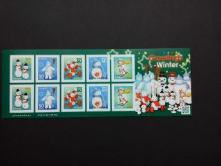 Japan Post Stamp Limited/greetings Winter 500/november - 7 - 2013 photo