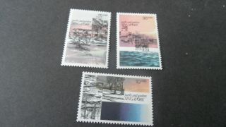 Singapore 1978 Sg 319 - 321 Parks And Gardens - - Post - - - - photo