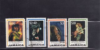 Jamaica 1995 Scott 837 - 840 Bob Marley photo