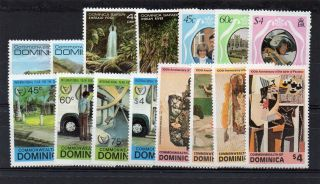 Dominica 1981 Safari,  Royal Wedding,  Year Of Disabled & Picasso Paintings U/m photo