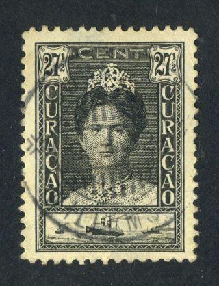 Curacao 1928.  27 1/2c Black. . photo