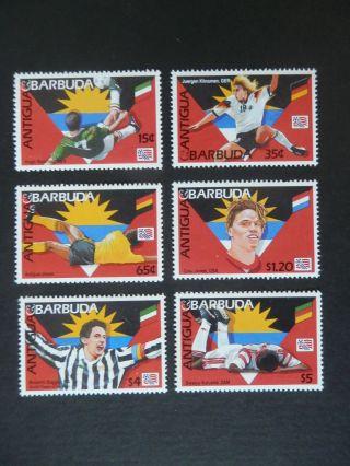 Antigua & Barbuda 1994,  World Cup In Usa,  2 Photos photo