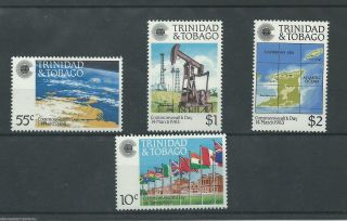 Trinidad & Tobago - 1983 - Sg622 To Sg625 - Cv £ 1.  60 - Unmounted photo