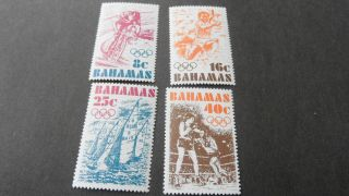 Bahamas 1976 Sg 478 - 481 Olympic Games. photo