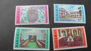 Bahamas 1979 Sg 545 - 548 25th Anniv Of Parliament photo