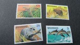 Bahamas 1982 Sg 626 - 629 Wildlife (2nd Series). photo
