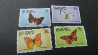 Bahamas 1983 Sg 653 - 656 Butterflies (3rd Series) photo