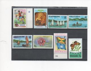 Grenada - 11 Assorted - 553 - 668 - - 1974 - 75 photo