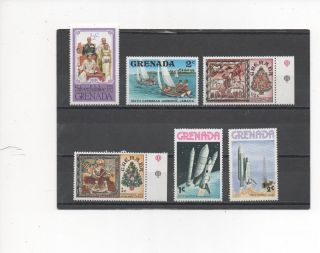 Grenada - 6 Assorted - 788 - 844 - - 1977 - 78 photo