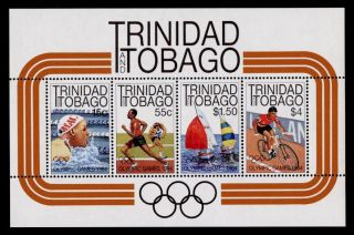 Trinidad & Tobago 415a Summer Olympics,  Sports,  Swimming,  Athletics,  Yacht photo