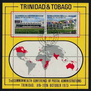 Trinidad & Tobago 240a - Commonwealth Conf Of Postal Adminstrations,  Flags photo