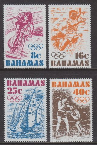 Bahamas - 1976 Olympic Games (4v) Um / photo
