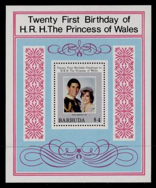 Barbuda 543 Princess Diana 21st Birthday photo